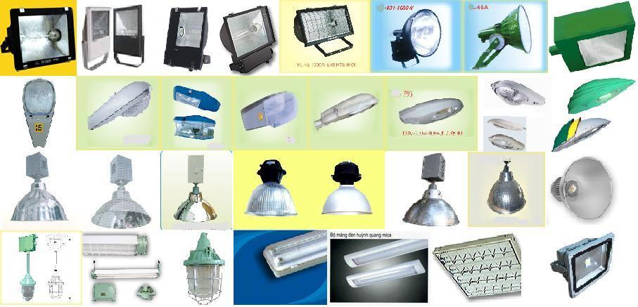 Các loại đèn chiếu sáng công nghiệp