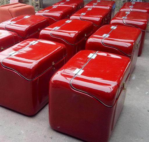 Thùng chở hàng composite-một phần không thể thiếu của cửa hàng thức ăn nhanh