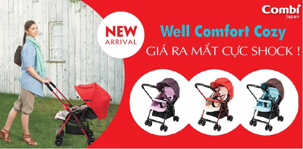 Giá của Xe đẩy Combi Well Comfort Cozy là bao nhiêu?