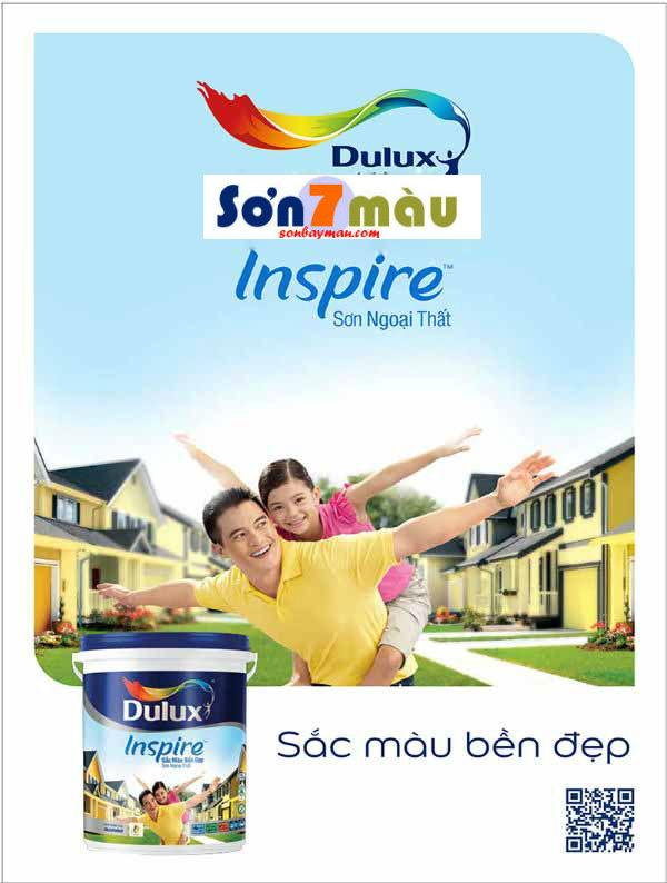 Bảng màu sơn Dulux Inspire