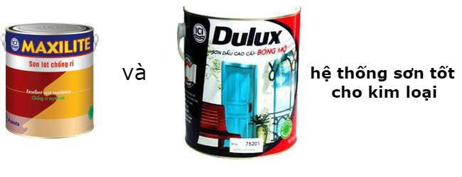 Báo giá sơn dầu dulux