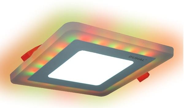 Đèn Led panel đổi màu 18 DMV518 Duhal