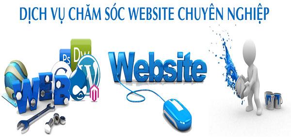 5 lý do nên sử dụng dịch vụ chăm sóc website chuyên nghiệp